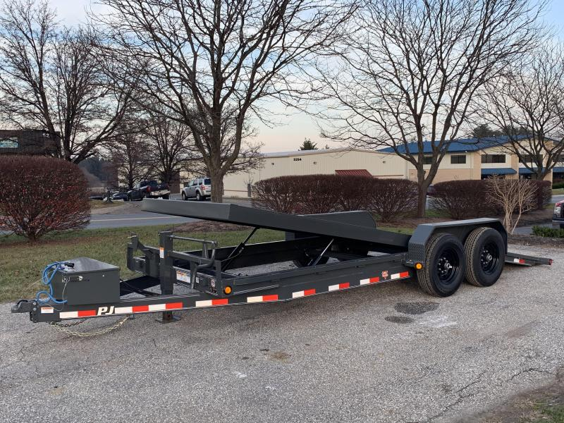 2019 PJ Trailers Powered Full Tilt (TF) Car / Racing Trailer