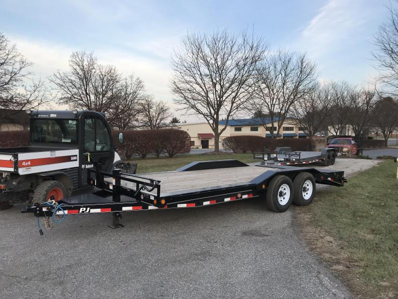 "2019 PJ Trailers 20' x 6"" Channel Super-Wide (B6) Car / Racing Trailer"