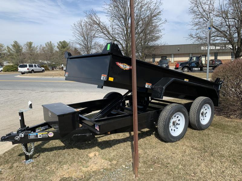 "2019 H and H Trailer 10 x 76"" Utlility Dump"