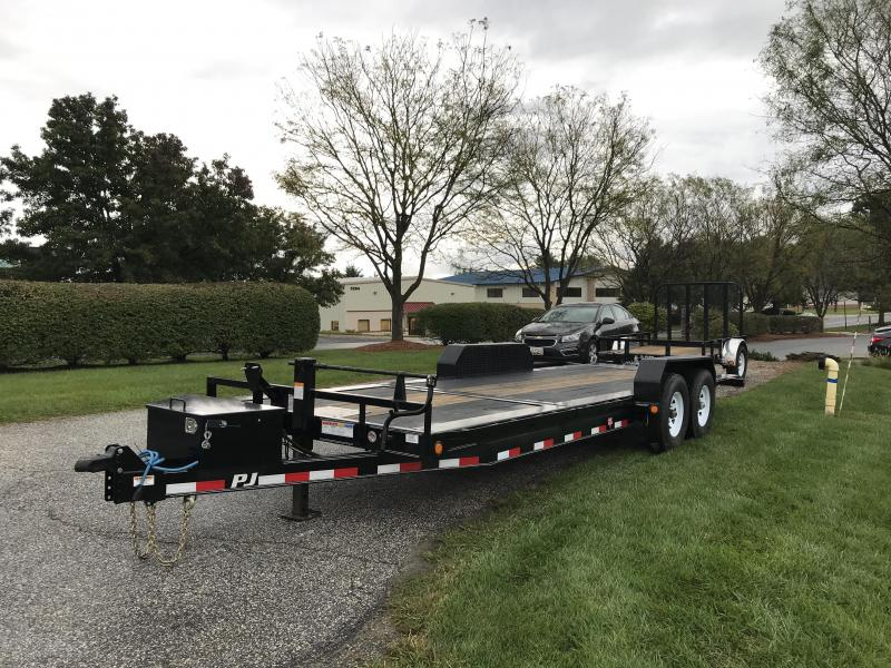 "2019 PJ Trailers 22' HD Equipment Tilt 6"" Channel Trailer"