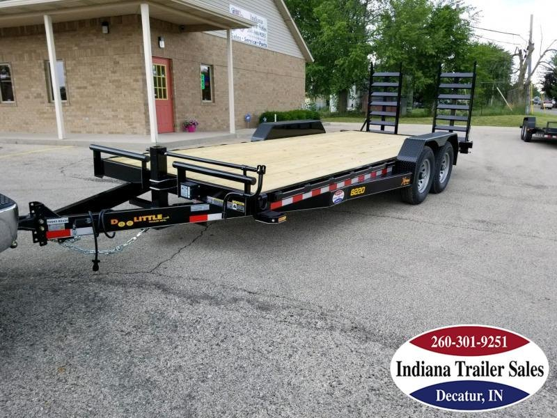 2018 Doolittle Trailer Mfg XT822014K Equipment Trailer