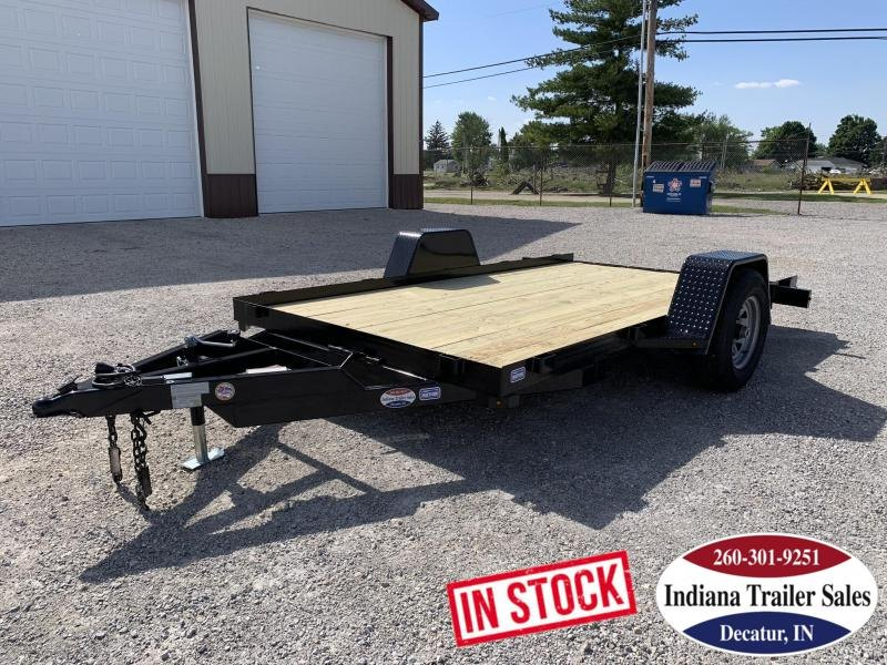 2019 Nation Tank and Trailer 6 1/2x12 Equip/Tilt Equipment Trailer