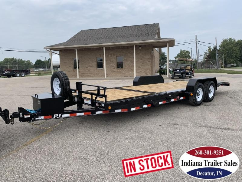 2020 PJ Trailers 82x22 TJ222 Equipment Trailer Tilt