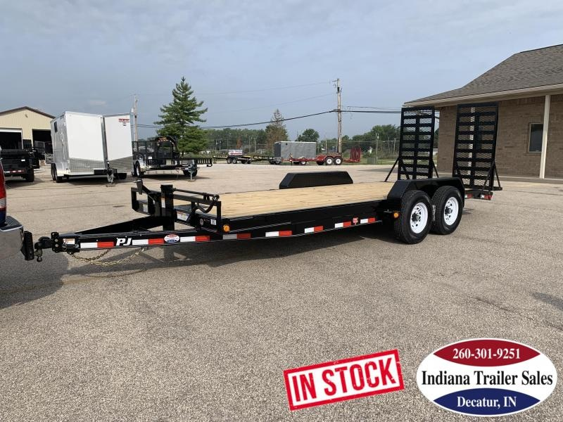 2020 PJ Trailers CC202 83x20 Equipment Trailer