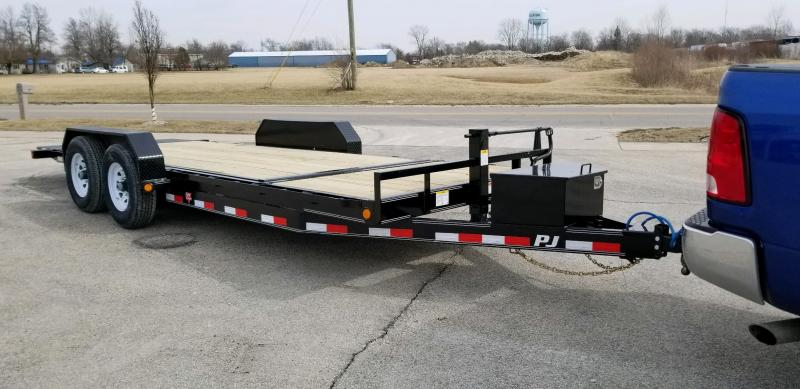 2019 PJ Trailers T6202 82x20 Equipment Trailer - Tilt