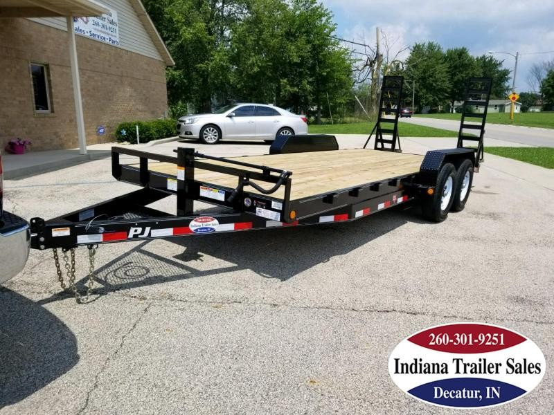 2019 PJ Trailers CC202 Equipment Trailer