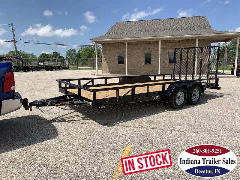 2019 Doolittle Trailer Mfg UT84X187K Utility Trailer