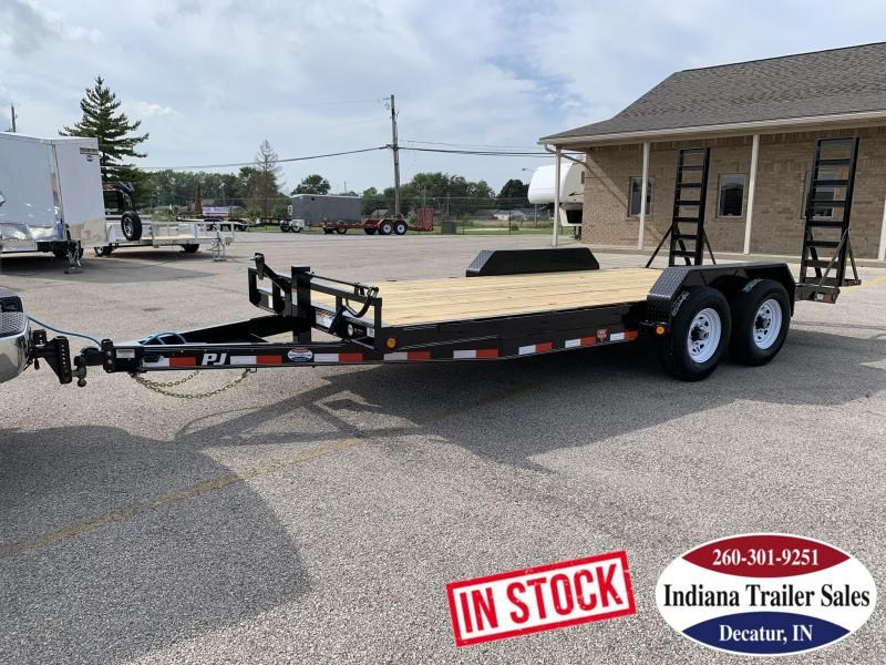 2020 PJ Trailers CC182 83x18 Equipment Trailer