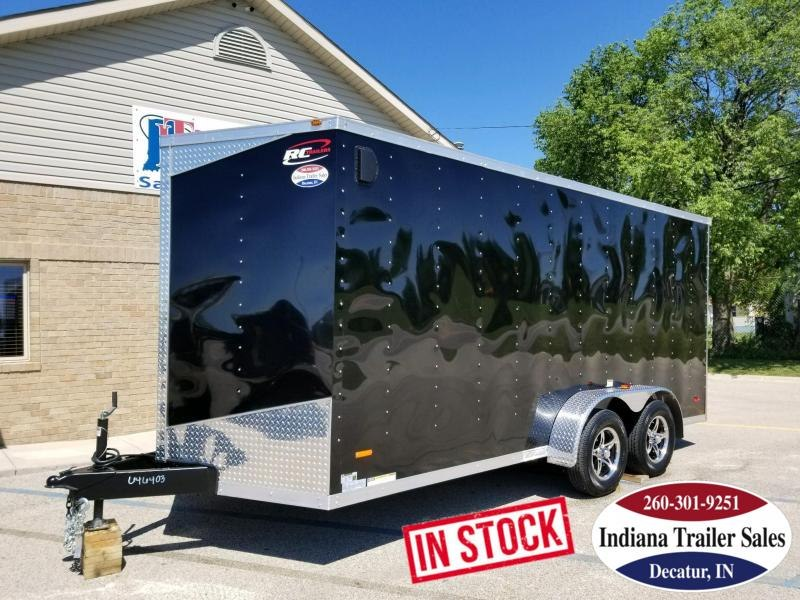 2018 RC Trailers RWT7x16TA2 Enclosed Cargo Trailer