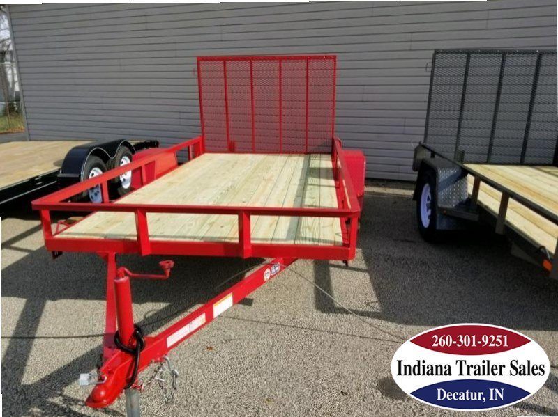 2018 Nation Trailers 6x12SA Utility Trailer