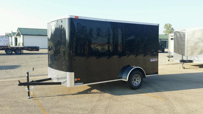 2018 Bravo Trailers HR6x12SA Enclosed Cargo Trailer