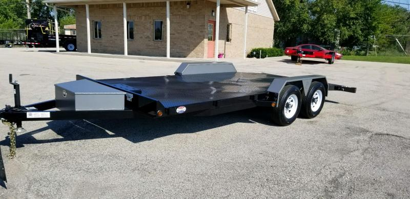2019 B-Wise CFD18-10 83x18 Car / Racing Trailer