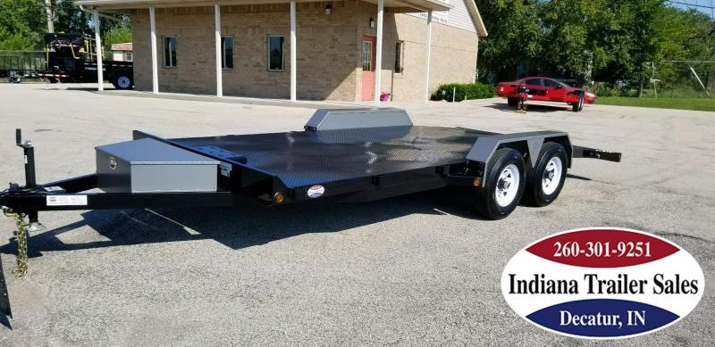 2019 B-Wise CFD18-10 Car / Racing Trailer