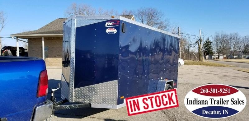 2019 RC Trailers RWT6X12SA Enclosed Cargo Trailer