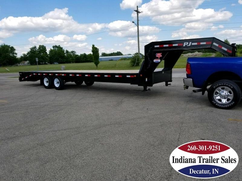 "2019 PJ Trailers FSR2872 102""x28' Equipment Trailer"