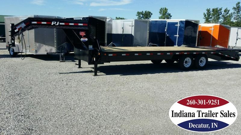 "2019 PJ Trailers fsr2572 102""x25' Equipment Trailer"