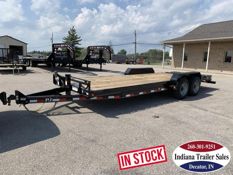 2020 PJ Trailers 80x22 CC222 Equipment Trailer