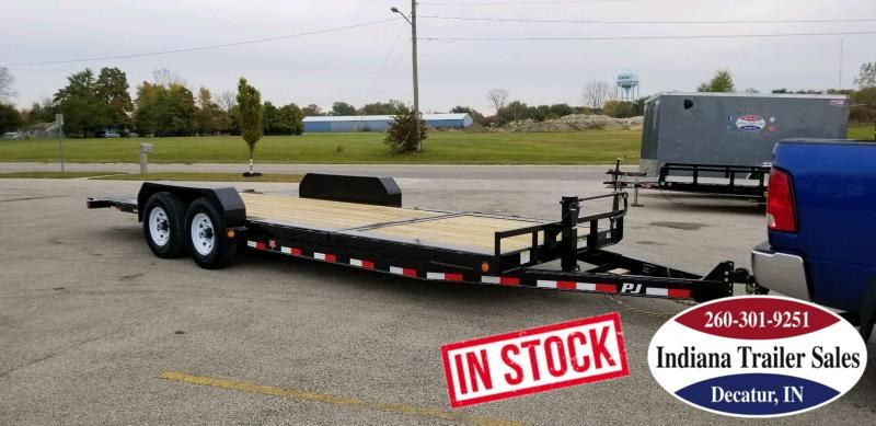 2019 PJ Trailers TJ222 Equipment Trailer Tilt