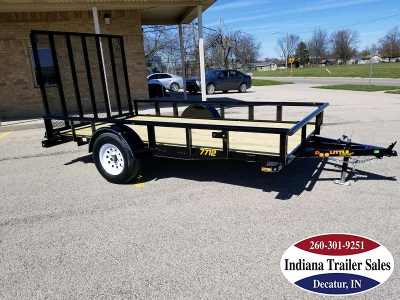 2018 Doolittle Trailer Mfg UT77X123K Utility Trailer
