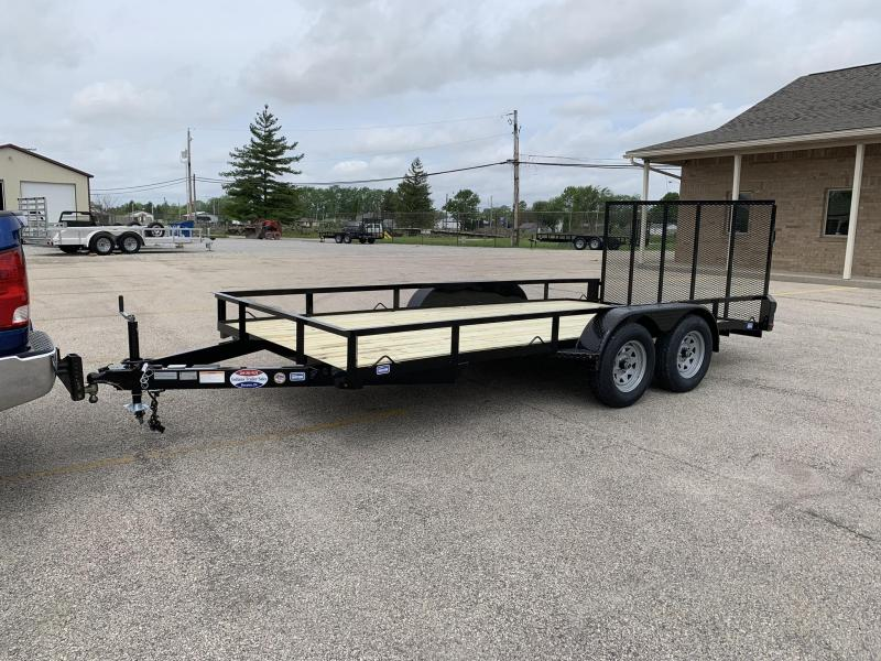 2019 Nation Tank and Trailer 83x16 Haul All Utility Trailer