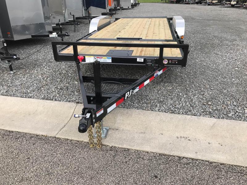 """2018 PJ Trailers T5 83""""x20' Tilt Carhauler Car / Racing Trailer"""