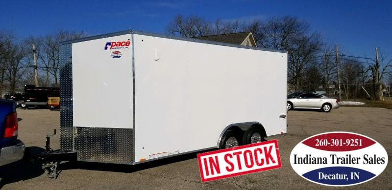 2020 Pace American JV85X16TE3SE Enclosed Cargo Trailer