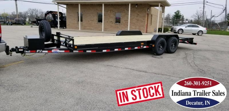 2019 PJ Trailers CC242 Equipment Trailer