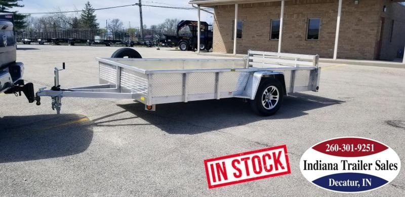 2020 Quality Steel and Aluminum 6.5x12 - 8012ALDX3.5KSA Utility Trailer