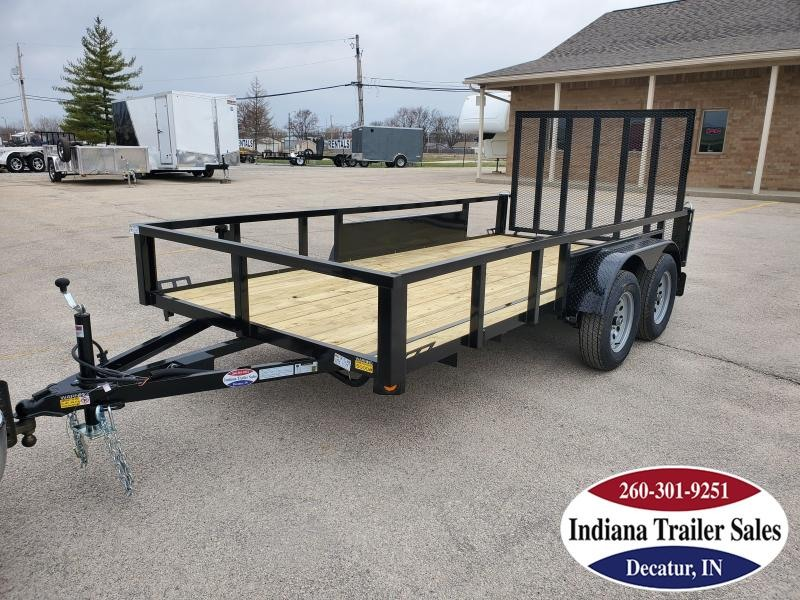 2021 Quality Steel and Aluminum 74x14 - 7414AN7KTA Utility Trailer