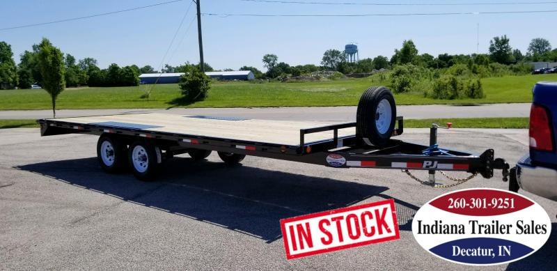 2020 PJ Trailers L6202 101x20 Equipment Trailer