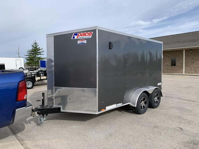 2020 Pace American JV7X12TE2SE Enclosed Cargo Trailer