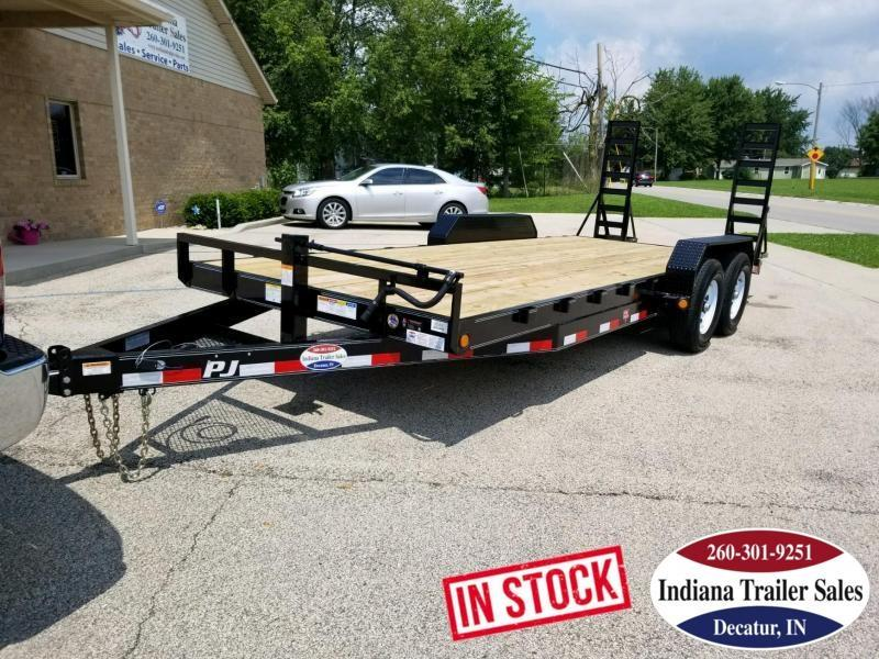 2019 PJ Trailers CC182 83x18 Equipment Trailer