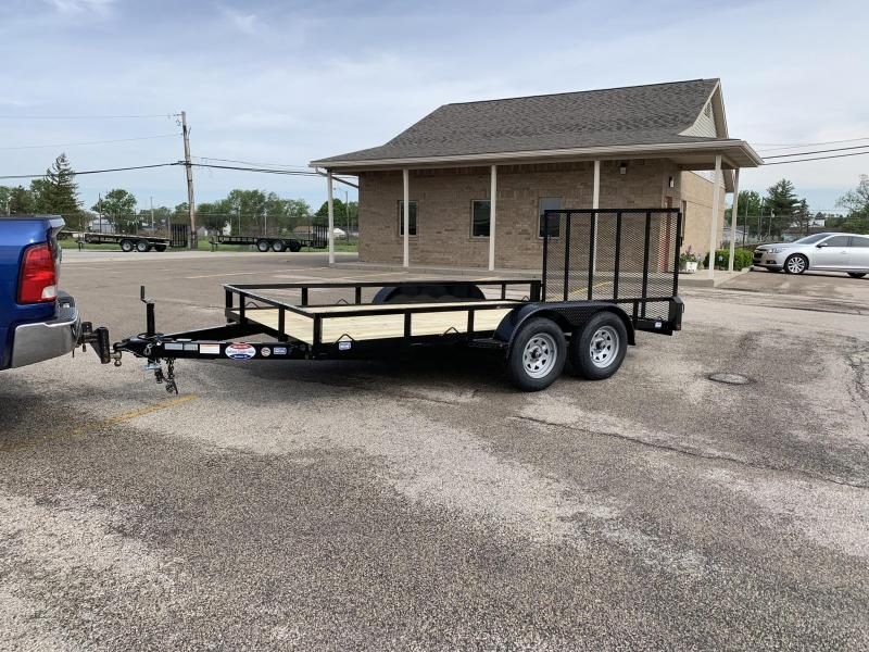 2019 Nation Tank and Trailer 83x14 Haul All Tandem Axle Utility Trailer