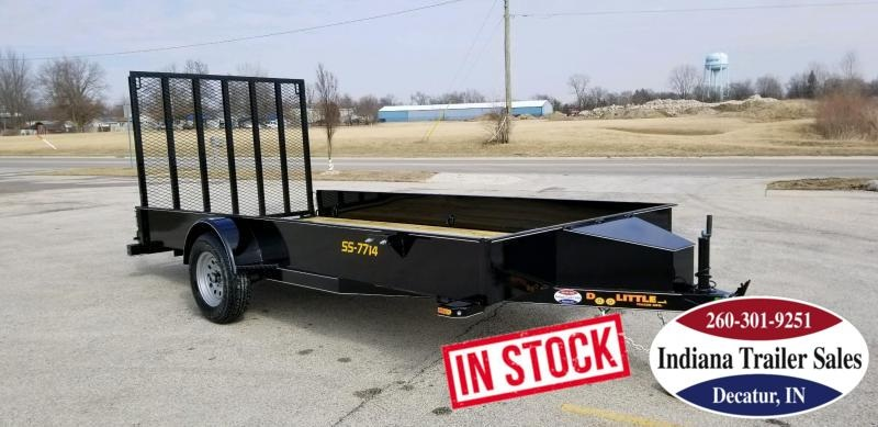 2019 Doolittle Trailer Mfg UT77X143K-SS Utility Trailer