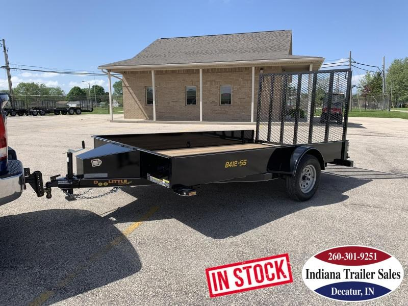 2019 Doolittle Trailer Mfg UT84X123K-SS Utility Trailer