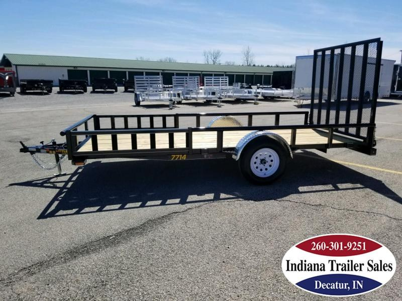 2018 Doolittle Trailer Mfg UT77X143K Utility Trailer