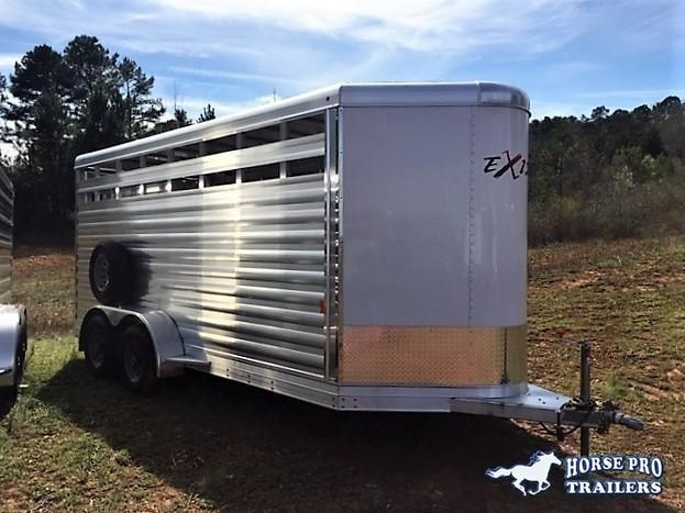 2020 Exiss 16' Stock Bumper Pull w/Center Gate- 7'2 TALL!