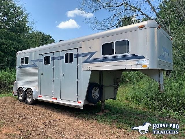 1993 4-Star 2 Horse Straight Load Gooseneck