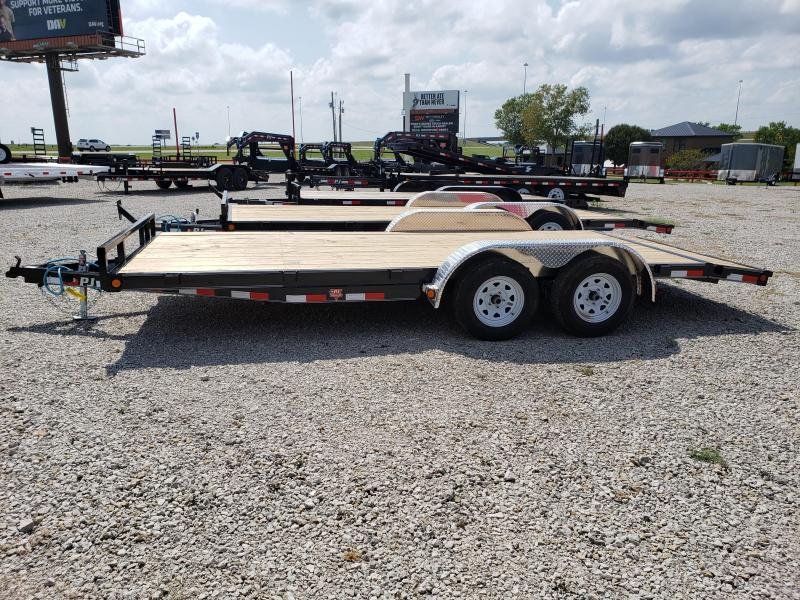"2020 PJ Trailers 2020 PJ 18'x5"" Channel Carhauler Car / Racing Trailer"