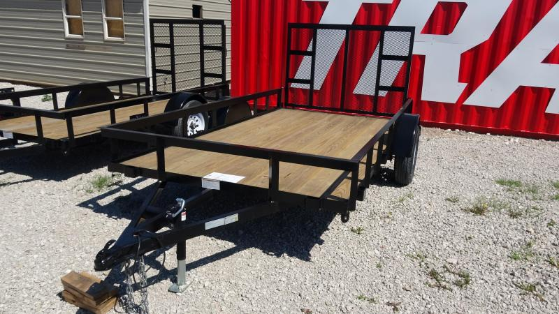 2019 Other 12x6.4 Gated Single Axle Utility Trailer Utility Trailer
