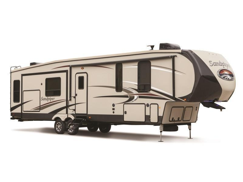 2017 Forest River Sandpiper 3350BH Fifth Wheel
