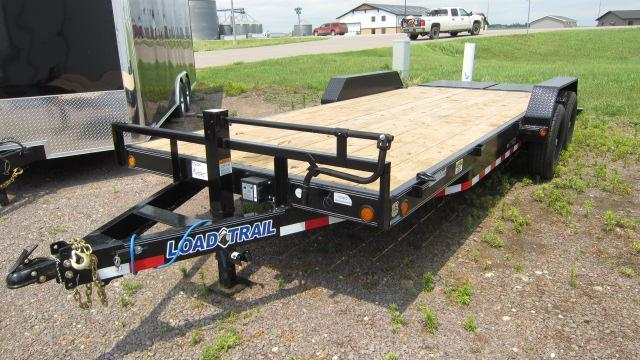 "2018 Load Trail 83"" X 20' Tandem Axle Flatbed Car Trailer"