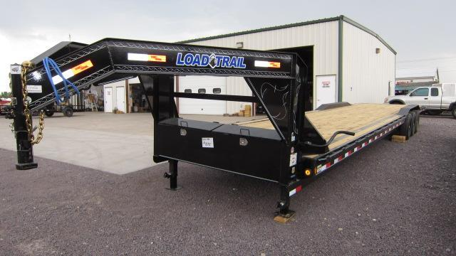 2019 Load Trail 102X40 Triple Axle Gooseneck Flatbed Trailer