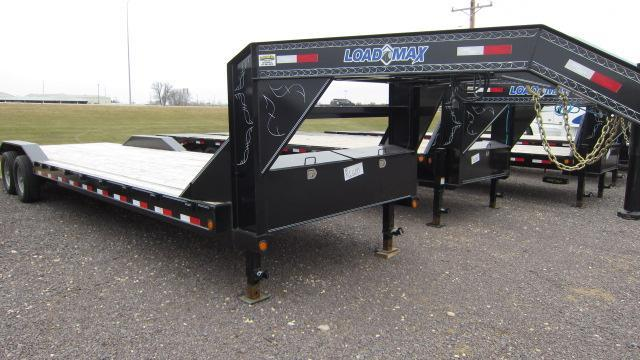 2017 Load Trail 102x30 Tandem Gooseneck Flatbed Trailer