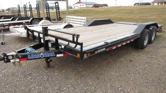2017 Load Trail 102x20 Tandem Axle Flatbed Trailer