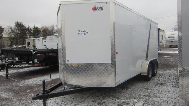 2019 AERO 7X16 V ENCLOSED Cargo Trailer