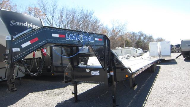 2019 Load Trail 102x40 Tandem Low-Pro Gooseneck Flatbed Trailer