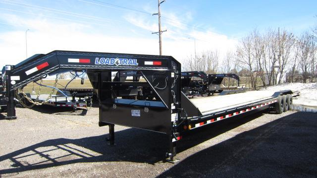 2019 Load Trail 102x40 Triple Gooseneck Flatbed Trailer