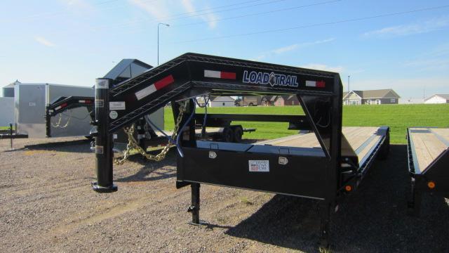 2019 Load Trail 102x40 Triple Gooseneck Flatbed Trailer