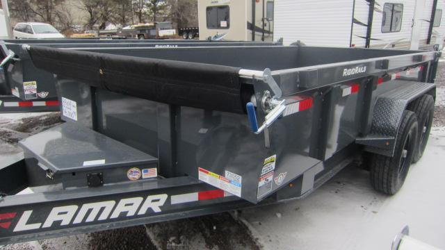 2019 Lamar Trailers 83X14 Low Pro Dump 14K Dump Trailer